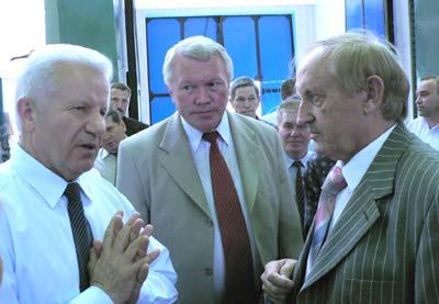 Александр Мороз (слева) и Вячеслав Богуслаев (справо)