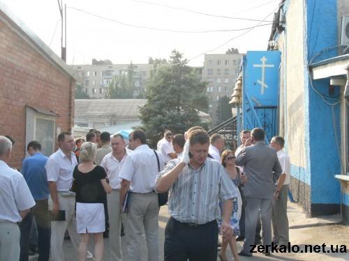 В Запорожье взорвали православный храм