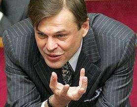 Депутат БЮТ Сергей Терехин, член партии Реформы и порядок