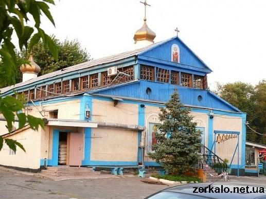 взрыв в Свято-Покровском храме г.Запорожья 28 июля 2010 г.
